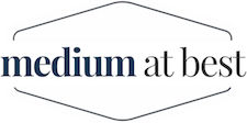 """Medium at Best"" Logo"